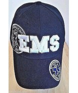 EMERGENCY MEDICAL SERVICES Cap with Embroidered Stars of Life -  EMS.Job... - $9.90