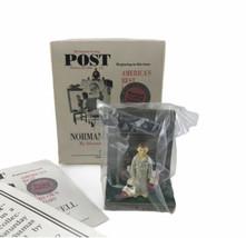 Goebel Portrait Of America Norman Rockwell Bottom Drawer Miniature Figur... - $27.89