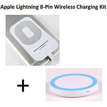 Qi Wireless Charging Kit For Apple Lighting 8-Pin Devices with 700 mAh R... - $34.99