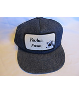 Vtg  Revluc Farm Denim Colored Mesh Snapback Trucker Hat - $14.79