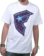 Famous Stars & Straps White/Purple Check It Checker BOH Badge of Honor T-Shirt