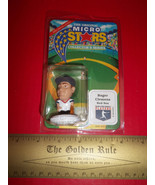 Baseball MLB Action Figure Toy Boston Red Sox Pitcher Roger Clemens Micr... - $18.99