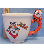 "Tony The Tiger Cup Coffee Tea Cereal Large 5 1/4"" Tall Kellogg Company - $18.80"