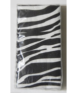 Swankie Hankies Pocket Tissues Zebra Stripe 10 Pack NIP - $2.25