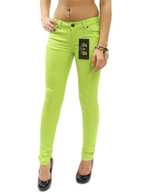 New Light Lime Green Sexy Low Rise Soft Skinny ... - $14.95