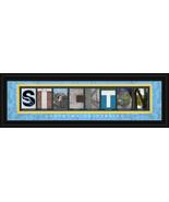 Stockton University Officially Licensed Framed Letter Art - $39.95