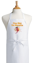 Too Hot To Handle Funny Novelty Apron, Humorous... - $9.85