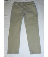 Vanity Fair Jeanswear Denim Riders Sz 12 Medium Tan Denim Jeans  - $15.99