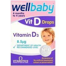 Vitabiotics Wellbaby Vitamin D Drops 30ml Vitamin D3 Colecalciferol Supplement - $7.85