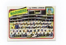 1980 Topps Seattle Mariners Team Set - $3.79