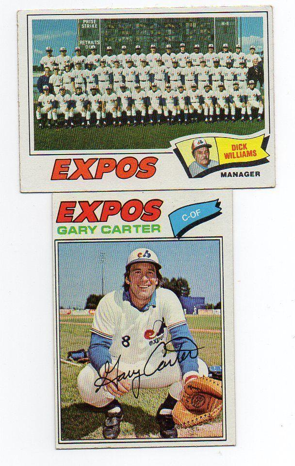 1977 Topps Montreal Expos Team Set