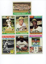 1976 Topps Pittsburgh Pirates Team Set Lot with Traded and Willie Stargell - $8.79