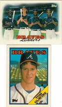1988 Topps Atlanta Braves Team Set With Traded Cards and Tom Glavine Rookie - $3.99