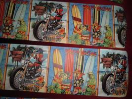 Custom ~Caribbean Coast Choppers Surf Board Ceiling Fan~ Parrots Gone Wild - $99.99