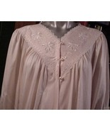 Sweet ~ Vintage Peach SHADOWLINE Peignoir M NWT - $34.65