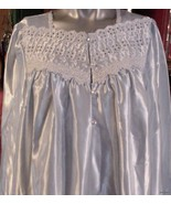Vintage Fundamentals Long Gown MOP Buttons Brus... - $21.95