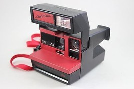 Vintage Polaroid 600 Cool Cam Camera Red and Black - $99.00