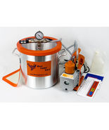 3 Gallon Induction Ready Stainless Steel Vacuum Chamber Kit for Resin, S... - $299.99