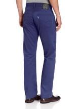 Levi's Strauss 514 Men's Original Slim Straight Jeans Pants Blue 514-0452 image 2
