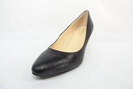 Liz Claiborne Joelle Pumps Kitten Heels synthetic patent upper Black Size 8W - $38.60