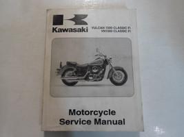 2000 Kawasaki Vulcan 1500 Classic Fi VN1500 Service Repair Manual WATER DAMAGED - $31.67