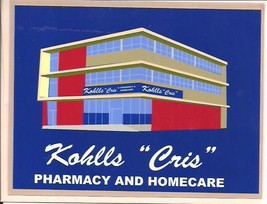 Kohlls Cris 50th and Dodge Omaha Nebraska Greeting Card with Envelope - $4.00