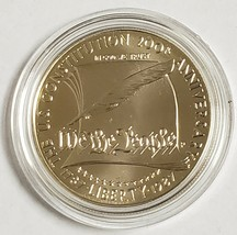 1987 U.S. Constitution Silver Dollar Uncirculated Coin Box & COA - $24.49