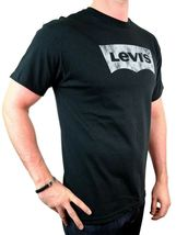NEW NWT LEVI'S MEN'S PREMIUM CLASSIC GRAPHIC COTTON T-SHIRT SHIRT TEE BLACK image 4