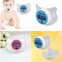 Baby Thermometer Temperature Digital Pacifier Nipple Mouth Safety Infant... - $7.91
