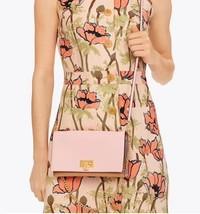 Tory Burch Women's Carmen Black Leather Mini Handbag Clutch Pink - £197.78 GBP