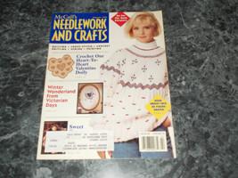 McCall's Needlework & Crafts Magazine February 1992 Mini Heart Quilt - $2.99