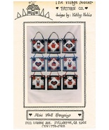 Mini Wall Hangings Country Motifs Wall Hanging Craft Pattern - $6.99