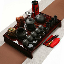 Chinese Kung Fu Tea Making Tools Tea Set Porcelain Teapot Pot Cup Elegant - $84.99