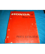 1963-1969 63 64 65 66 HONDA CA200 CA 200 C200 C 200 PARTS MANUAL BOOK CA... - $94.03