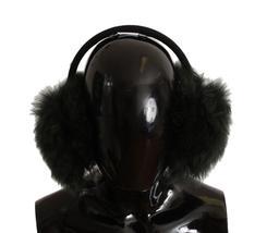 Green Shearling Alpaga Wool Ear Muffs - $297.50