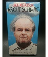 About Schmidt VHS movie 2003 Jack Nicholson Rated R cc 124 min NEW - $5.50
