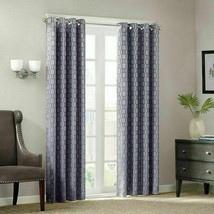 Madison Park Clare Chainlink 84inch Window Panel - Gray - $21.77