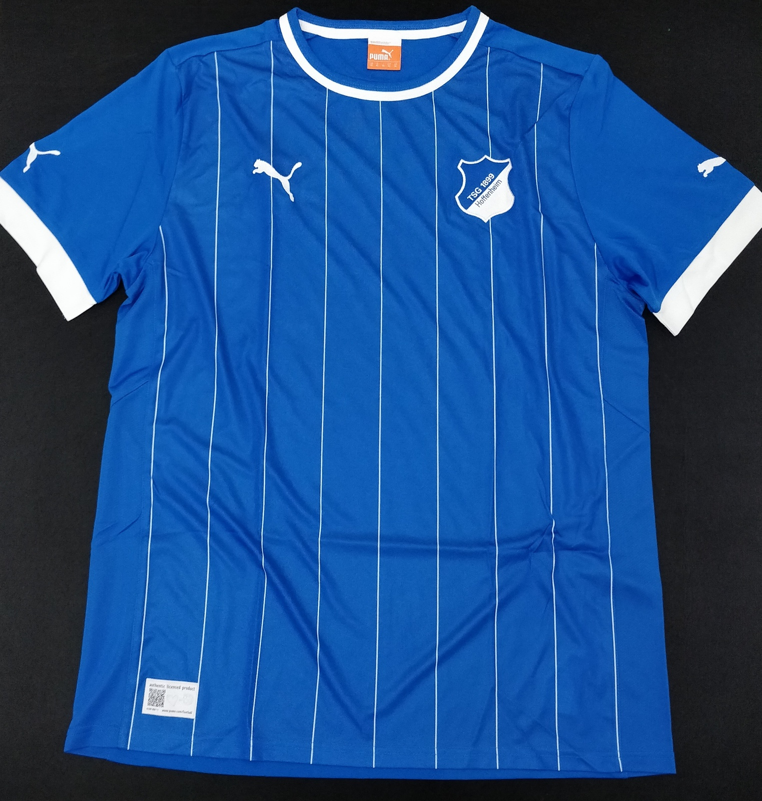 Primary image for Hoffenheim 12/13 Blue Jersey Puma Fans Version %100 Authentic