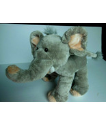 Elephant Soft & Hugable Firm enough to Stand Fine Toy 14 inch Plush Gray - $11.87