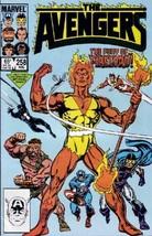 Avengers #258 VF/NM 1985 Marvel Spider-Man vs Firelord Comic Book - $1.89