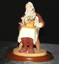 Days to Remember - Norman Rockwell Santa with Helpers Figurine AA19-1648 Vintag image 2