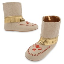 NEW Disney Store Pocahontas Costume Shoes Sz 13/1 2/3 - $29.99