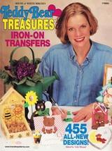 Teddy Bear Treasures Transfer Book 2000, Paperback 455 Designs House of ... - $9.49