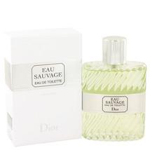 Christian Dior Eau Sauvage 3.4 Oz Eau De Toilette Spray  image 2