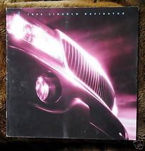 1999 Lincoln Navigator Sales Brochure - $2.00