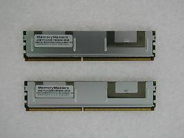 8GB (2X4GB) DDR2 MEMORY RAM PC2-5300 ECC FBDIMM DIMM QUAD RANK