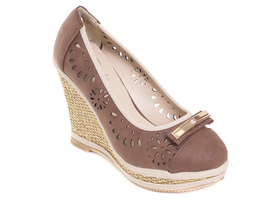 Slingback Thong Women Flat Sandals Brown UPxwH