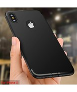 Roybens® iPhone X 7 8 Plus Case Ultra Thin Slim Matte Soft Silicone Cover - $4.38