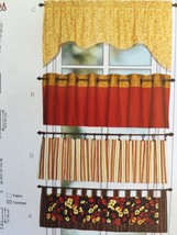 Kwik Sew Sewing Patterns 3911 Victory Valances Learn To Sew New Window - $16.47