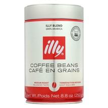 Illy Caffe Coffee Coffee - Whole Bean - Medium Roast - 8.8 Oz - Case Of 6 - $105.97